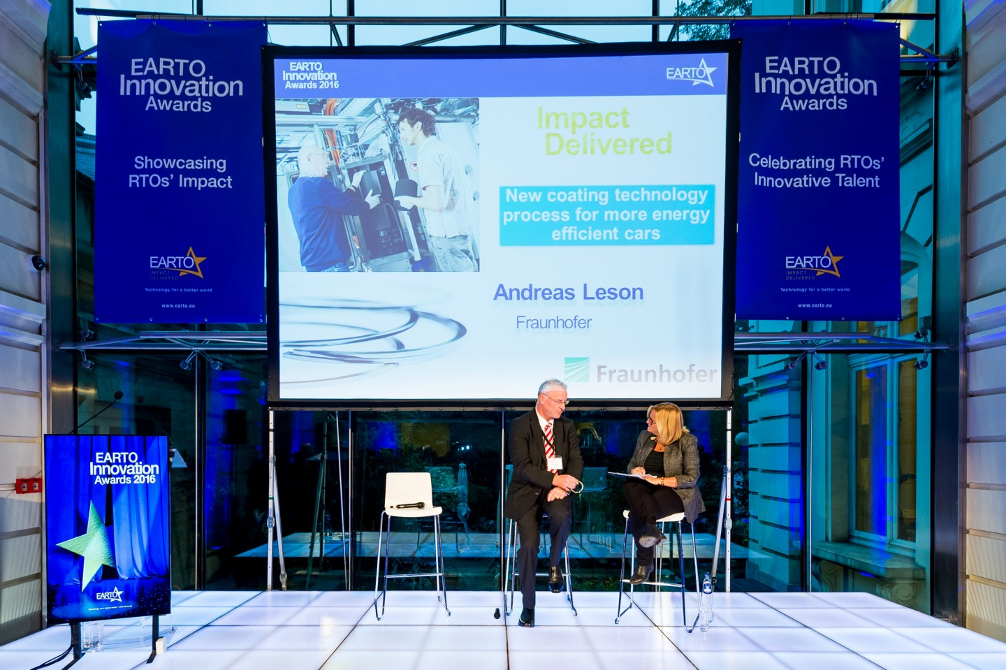 EARTO Innovation Awards Verleihung am 12. Oktober 2016 in Brüssel