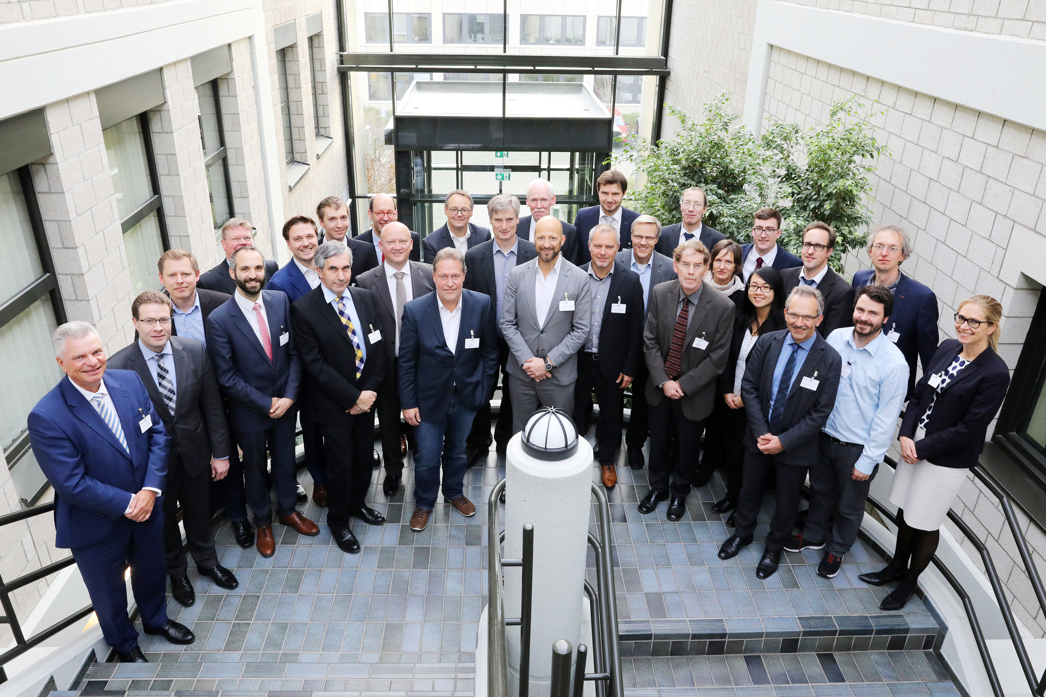 Partners from industry and science met on Nov. 14, 2017 for the kick-off of the Fraunhofer futureAM focus project in Aachen.
